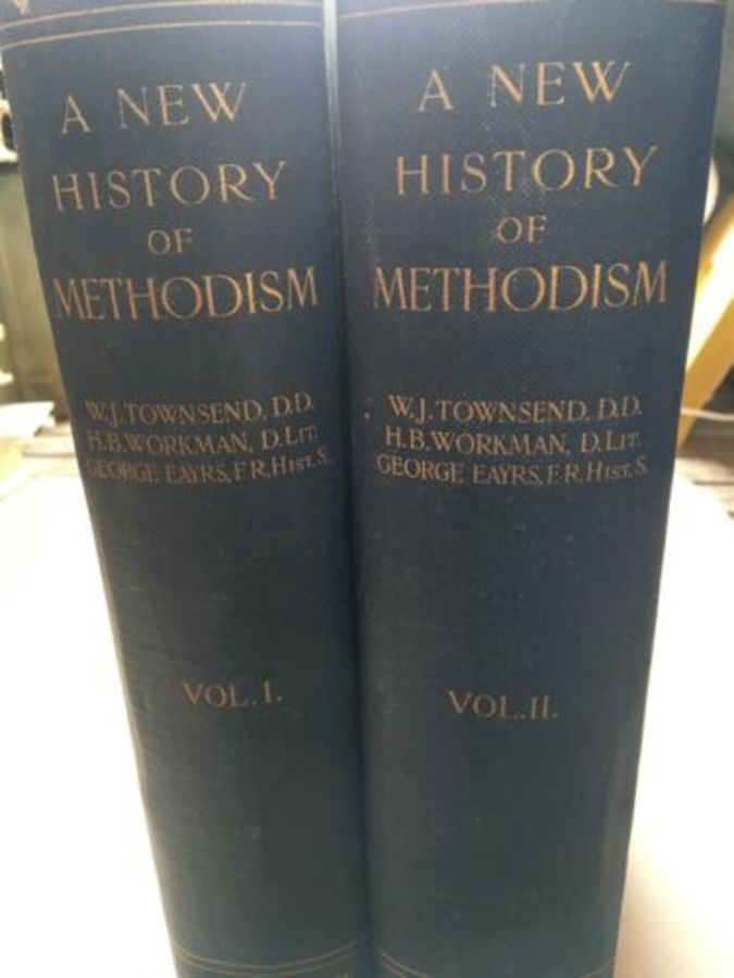 Vintage Book 'A New History Of Methodism' Volumes 1 & 2