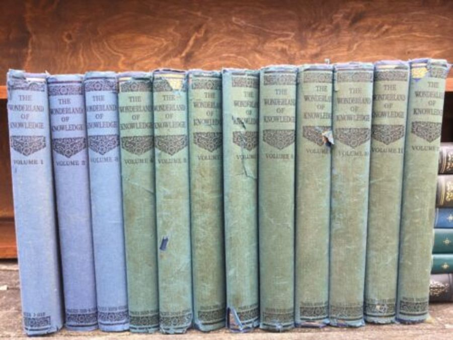 12 Volume Early Set The Wonderland Of Knowledge By Ernest Ogan Oham Press Limite