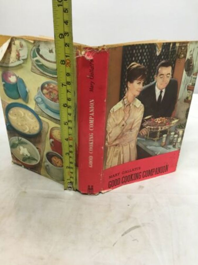 Vintage Book 'Good Cooking Companion' By Mary Gallati's