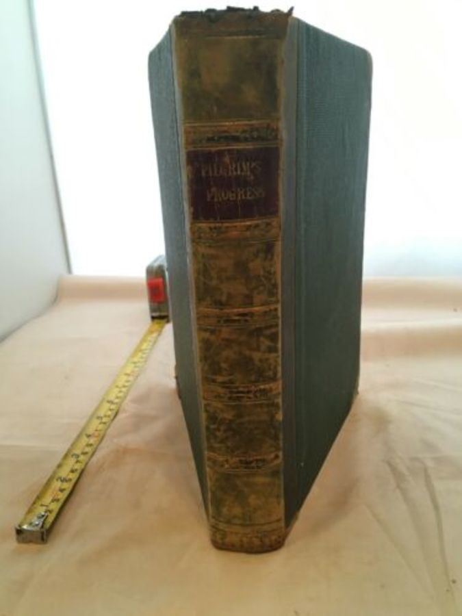 Vintage Book 'A True Relation Of The Holy War - King Shaddai' By John Bunyan
