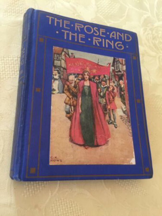 The Rose And The Ring By W M Thackeray Abridged From Original Ed 1910 Rare Book