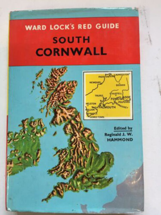 Ward Lock's Red Guide South Cornwall 1963 Vintage Book