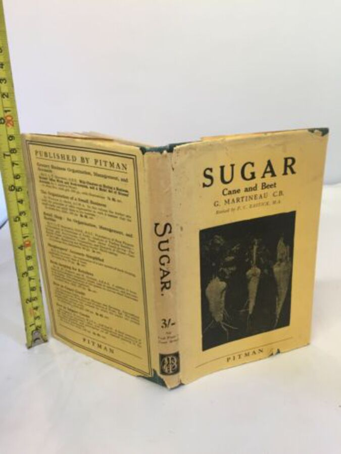 Vintage Sugar Cloth Books By The Late George Martineau 6th Edition 1933