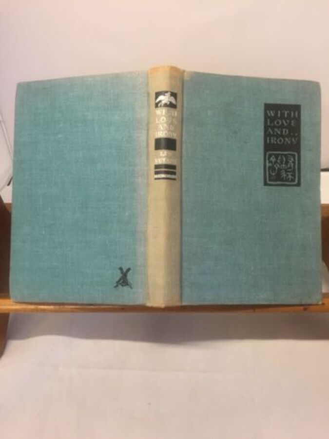 Vintage Book Lin Titans With Love & Irony Kirt Wiese 1941 1st Ed Surrey Windmill
