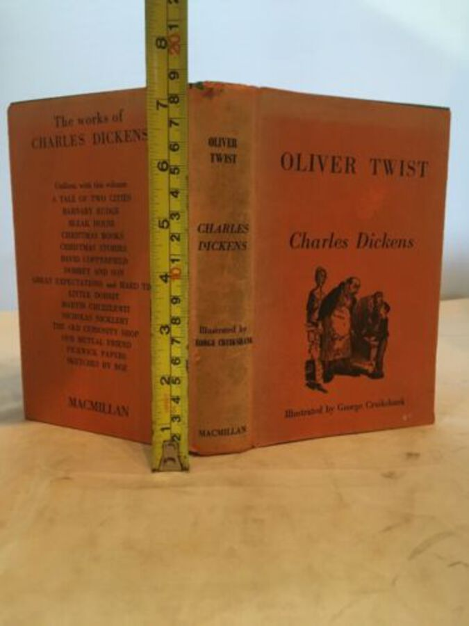 The Adventures Of Oliver Twist By Charles Dickens With Illustrations 1965
