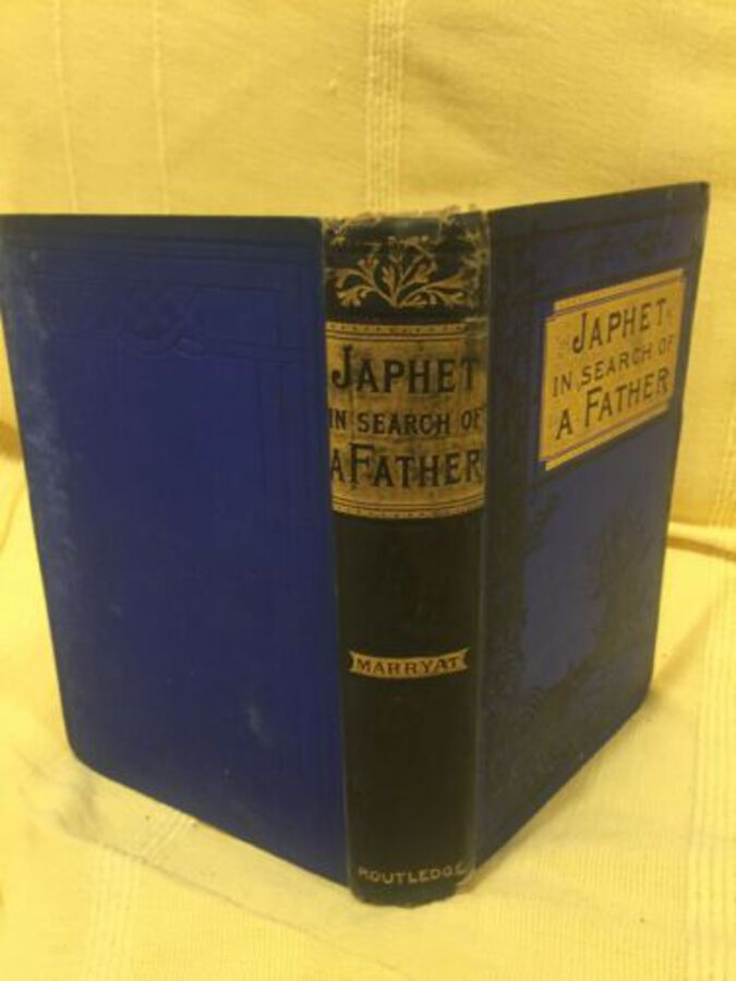 Japhet In Search Of A Father By Captain Marryat With Illustrations London 1890's