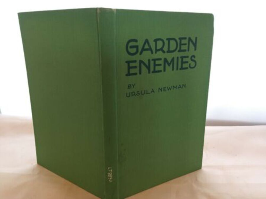 Vintage Book 'Garden Enemies Control Of Pests And Diseases' By Ursula Newman
