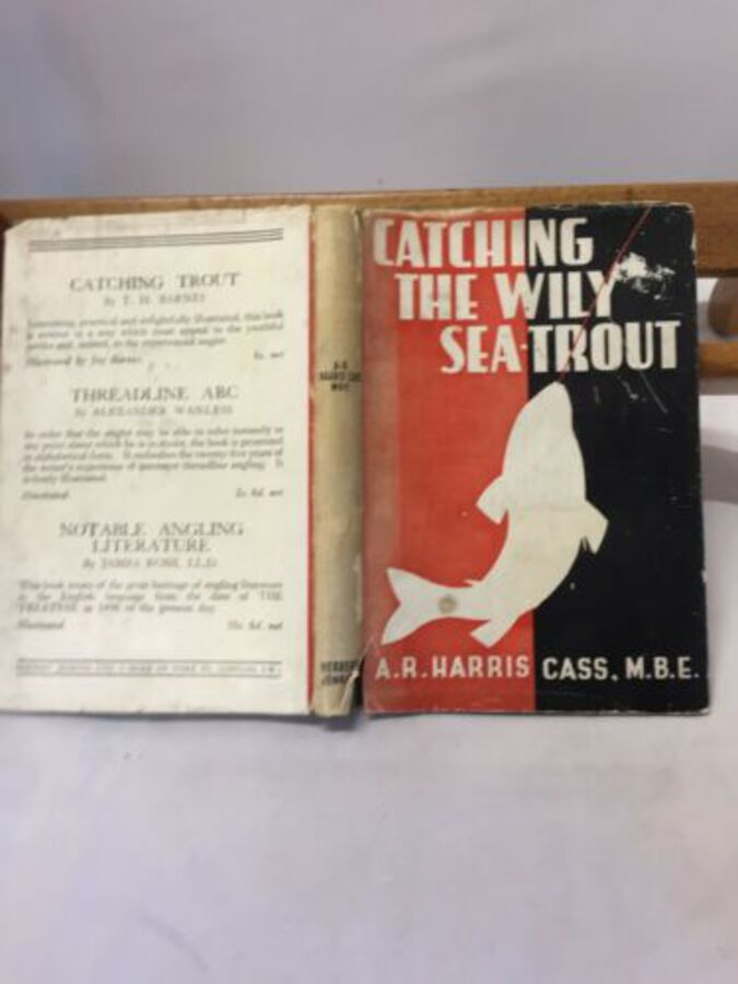 Vintage Book 'Catching The Willy Sea Trout' to A. R. Harris Cass. 1st Ed
