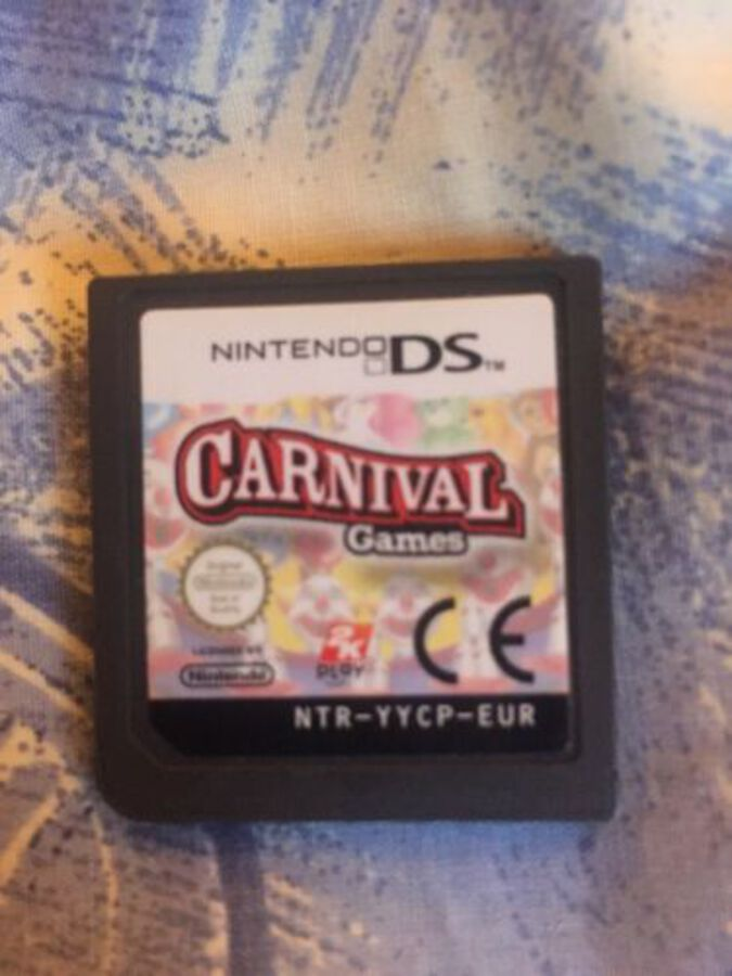 Carnival Games DS 3DS Game Cart Only