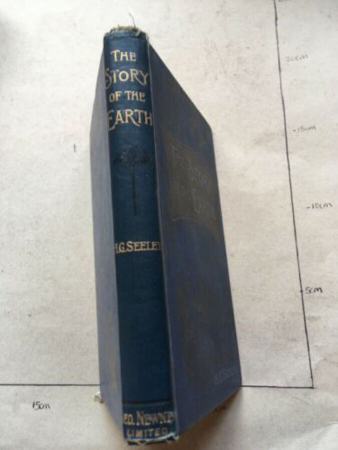 Vintage Book 'The Story Of The Earth' Vol 13. By H. G. Seeley 1895