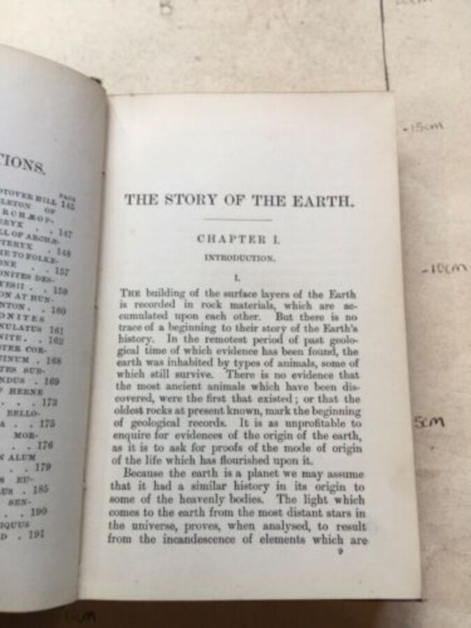 Antique Vintage Book 'The Story Of The Earth' Vol 13. By H. G. Seeley 1895