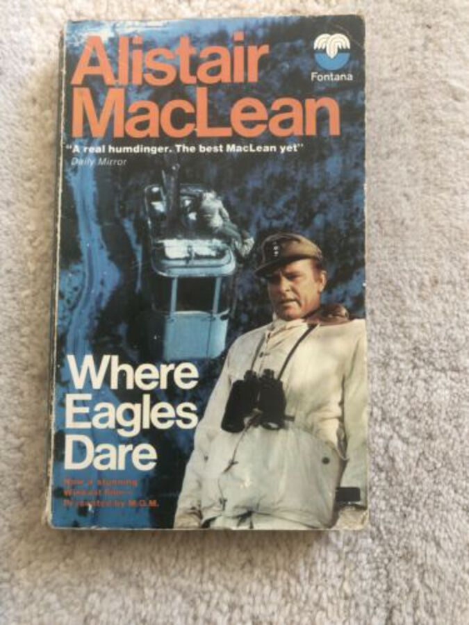 Alistair Maclean; Where Eagles Dare