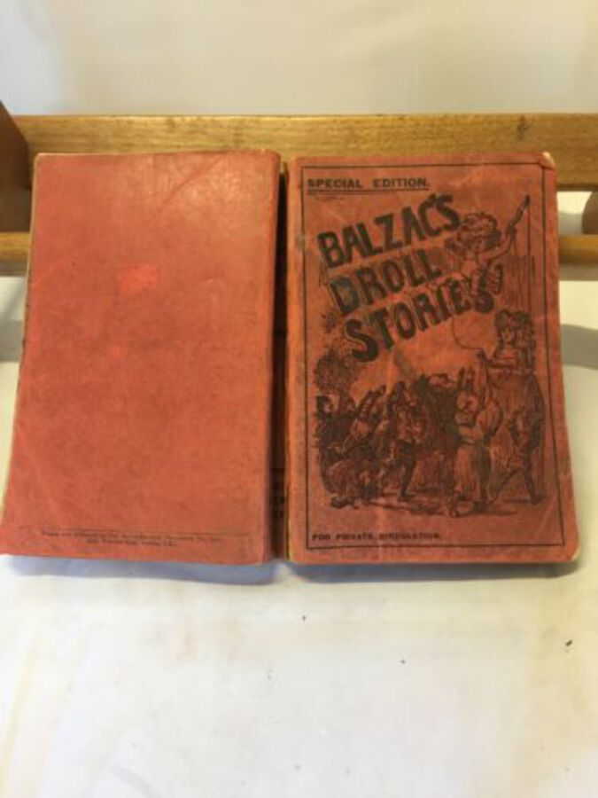 Vintage Book Mini 'Balzac's Droll Stories' Special Edition