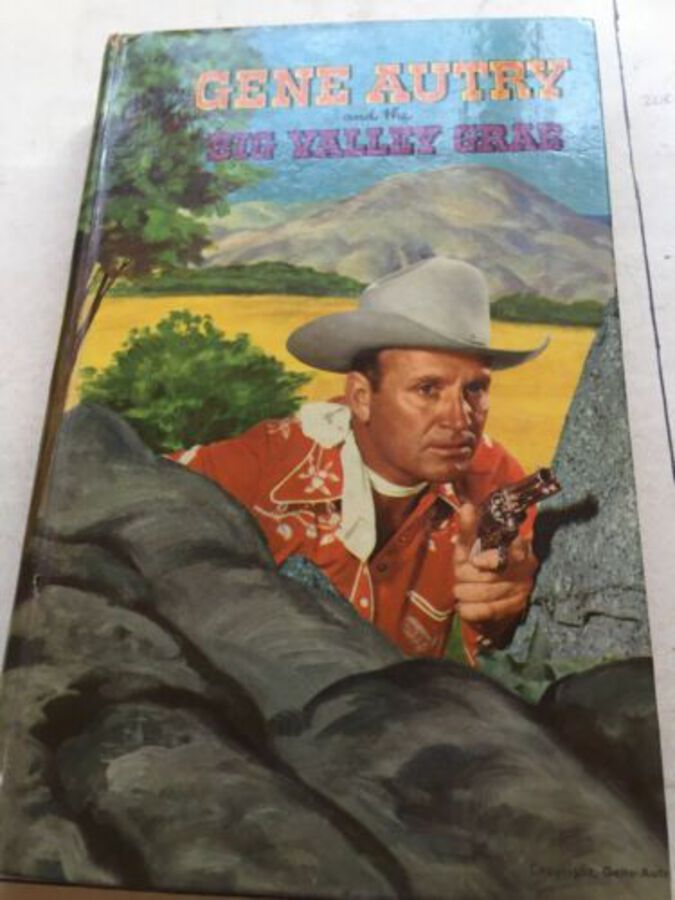 Vintage Book 'Gene Autry And The Big Valley Grab' By Gene Autry. 1952
