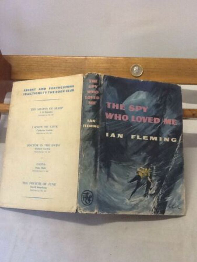 Vintage Book 'The Spy Who Loved Me' By Ian Fleming 1962