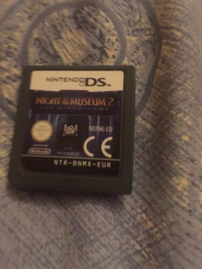 NIGHT AT THE MUSEUM 2 * NINTENDO GAME DS / LITE / DSi . 100% GENUINE