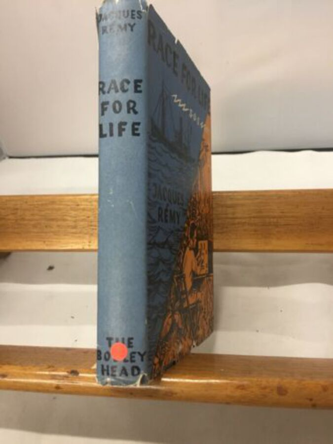 Race For Life Jacques Tent 1957 London Dust Jacket