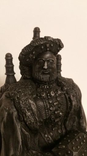 Antique KING HENRY THE 8TH TUDOR SCULPTURE | Only One Of Its Kind In The World RARE COLLECTORS ITEM (ALL OFFERS ARE WELCOME)