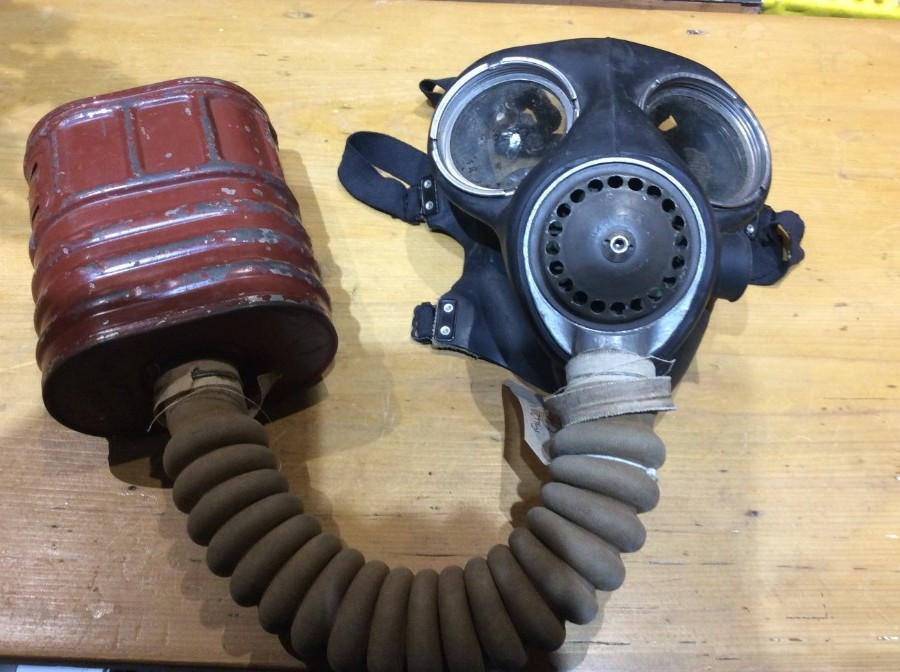 Genuine WWII Gas Mask