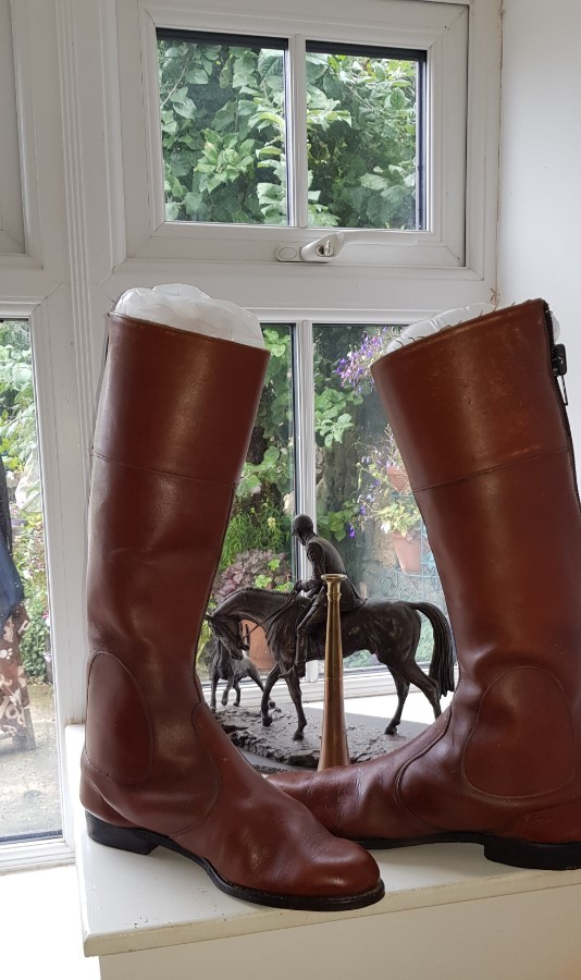 Old Riding Boots