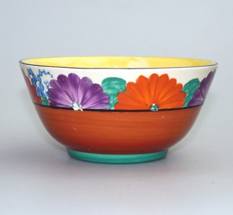 Art Deco British Art Pottery Clarice Cliff Gayday Bowl C.1927-33