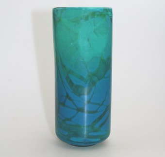 Antique Art Glass : A good large Maltese Mdina Ming Vase - circa 1970's