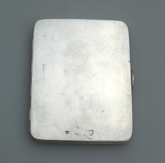 Antique Antique Solid Silver Rare double Travelling pocket Picture Case Early Asprey C.1893