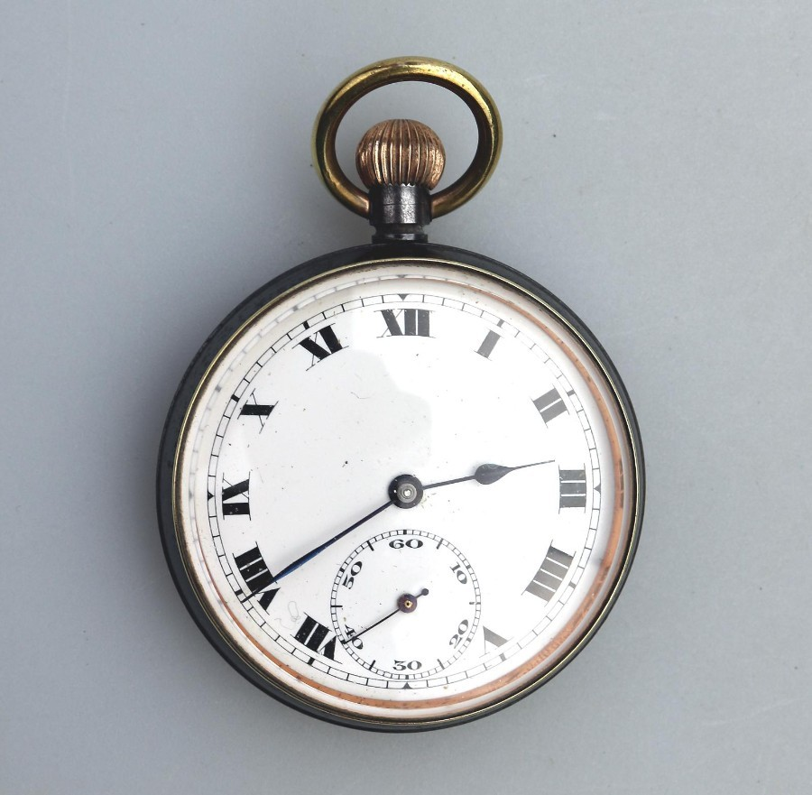 Antique Swiss Pocket Watch early 20th century