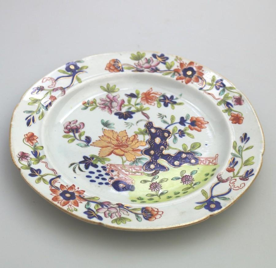 Antique Chinese export Imari plate, Qianlong | ANTIQUES.CO