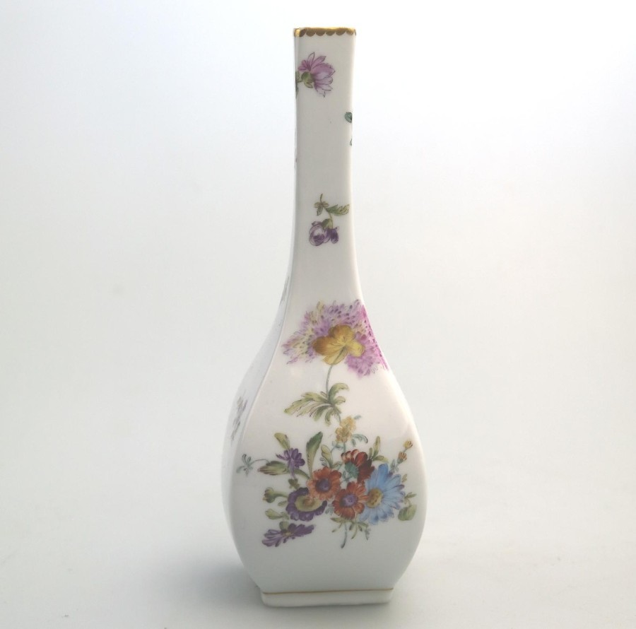 Vintage Antique Porcelain Continental Specimen Vase C.early/mid 20thC