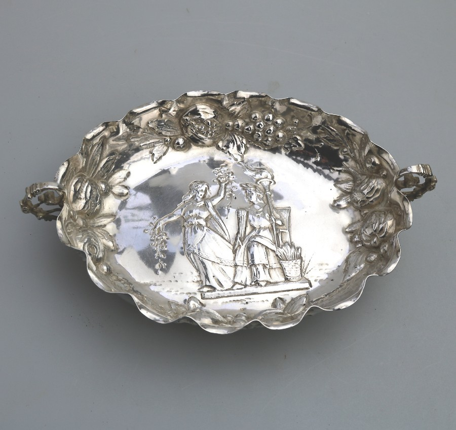 Antique Continental / USA Silver Sweet / Candy Dish Circa late 19th/early 20thC