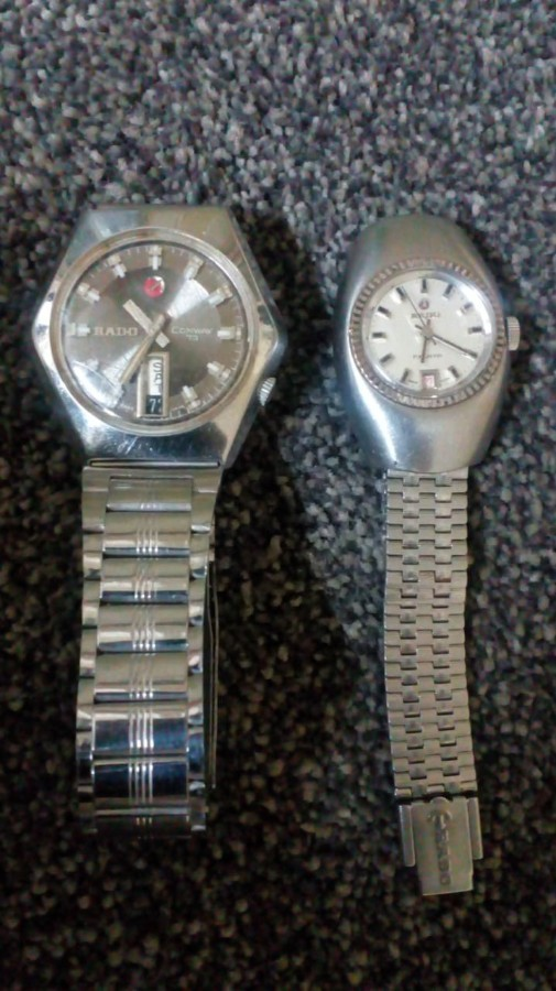 Rado gents n ladies watch