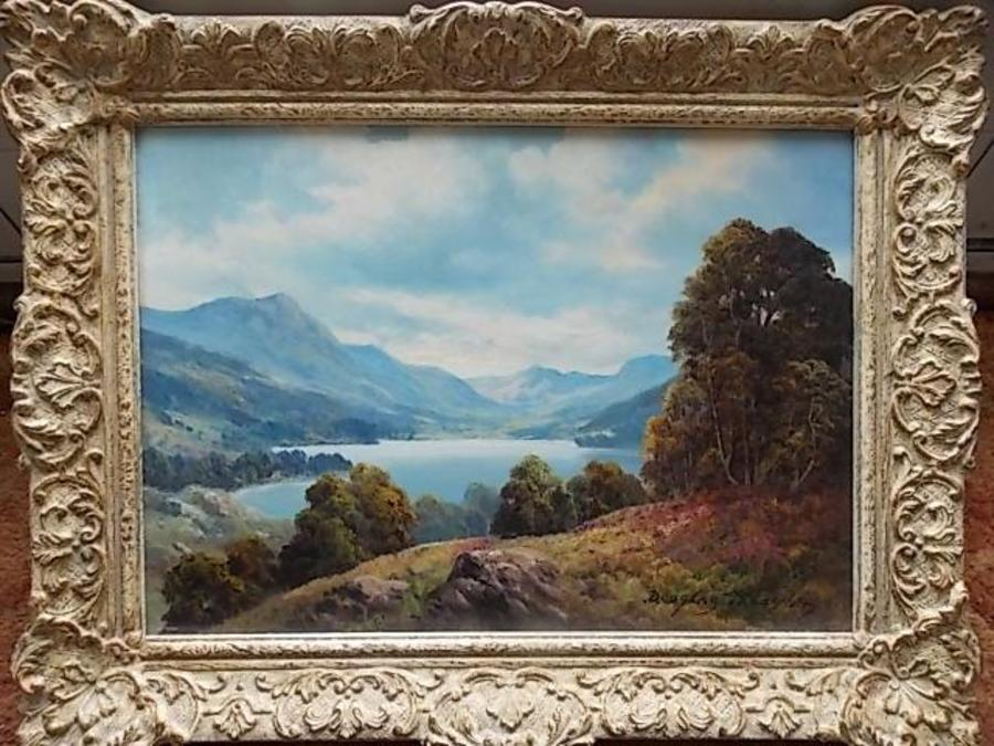 Douglas Falconer Oil painting. ( 1913-2004 ) Scottish