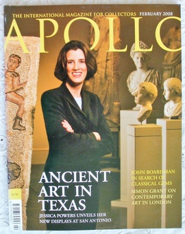 Antique Apollo ~ Vol. CLXVII ~ No. 551 ~ February 2008