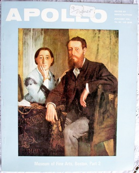 Antique Apollo ~ Vol. XCI ~ No. 95 ~ January 1970