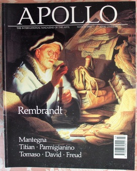 Antique Apollo ~ Vol. CXXXV ~ No. 361 ~ March 1992