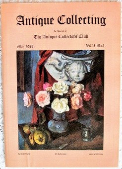 Antique Antique Collecting ~ Vol. 18 ~ No. 1 ~ May 1983
