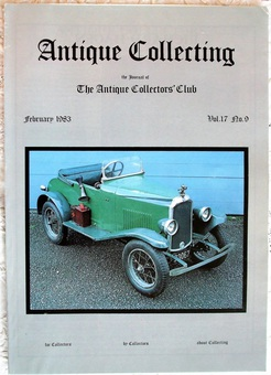 Antique Antique Collecting ~ Vol. 17 ~ No. 9 ~ February 1983