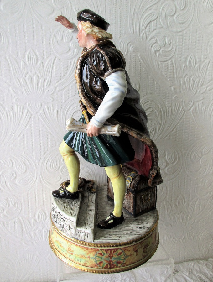 "Antique Royal Doulton English Porcelain Figurine ~ ""Christopher Columbus"" ~ HN 3392"