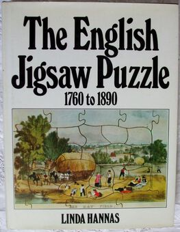 Antique The English Jigsaw Puzzle 1760 - 1890 ~ Linda Hannas