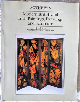 Antique Sotheby's ~ Modern British and Irish Paintings, Drawings and Sculpture ~ London ~ 07. 11. 1990
