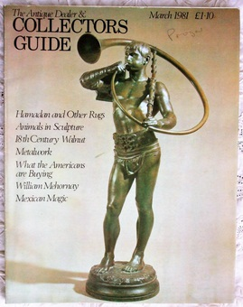 Antique The Antique Dealer and Collectors Guide ~ March 1981