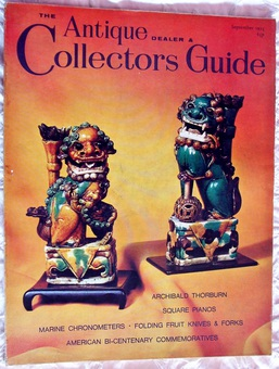 Antique The Antique Dealer and Collectors Guide ~ September 1975