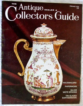 Antique The Antique Dealer and Collectors Guide ~ February 1974