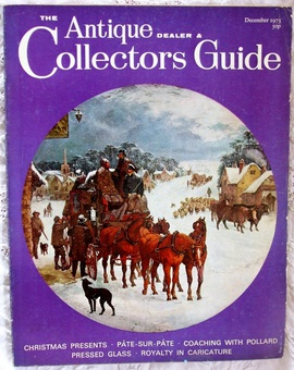 Antique The Antique Dealer and Collectors Guide ~ December 1973