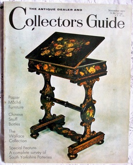 Antique The Antique Dealer and Collectors Guide ~ November 1970