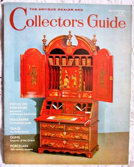 Antique The Antique Dealer and Collectors Guide ~ September 1970