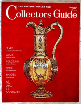 Antique The Antique Dealer and Collectors Guide ~ August 1970