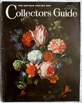 Antique The Antique Dealer and Collectors Guide ~ June 1970