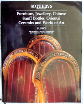 Antique Sotheby's ~ Antiques and Collectables ~ Sussex ~ 24. 09. - 03. 10. 1990